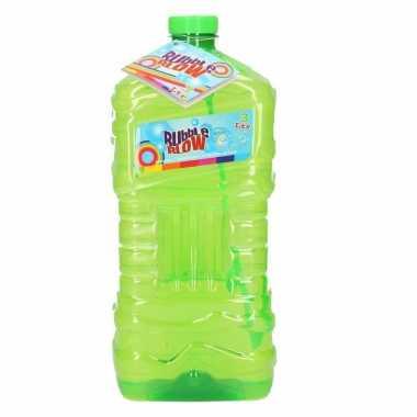 Groothandel speelgoed bellenblaas groen 3l kopen
