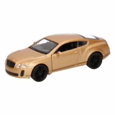 Groothandel speelgoed bentley continental supersports goud welly auto