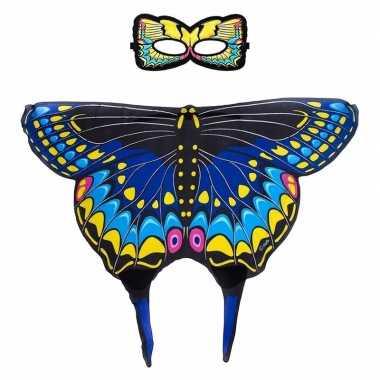 Groothandel speelgoed blauwe zwaluwstaart vlinder verkleedset kopen