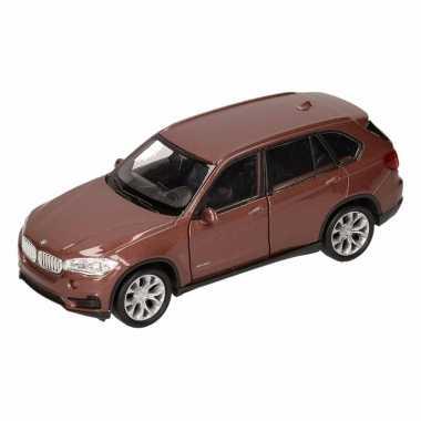 Groothandel speelgoed bmw x5 bruin welly autootje 1:36 kopen