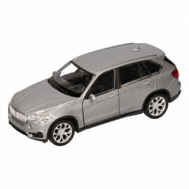 Groothandel speelgoed bmw x5 grijs welly autootje 1 36