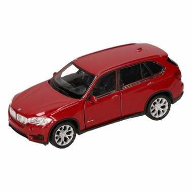 Groothandel speelgoed bmw x5 rood welly autootje 1:36 kopen