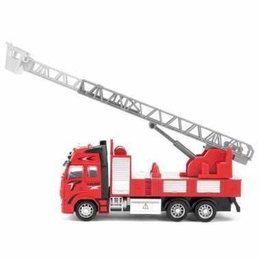 Groothandel speelgoed brandweerwagen/ladderwagen voor kinderen 25 cm kopen