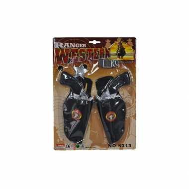 Groothandel speelgoed cowboy dubbele holster kopen