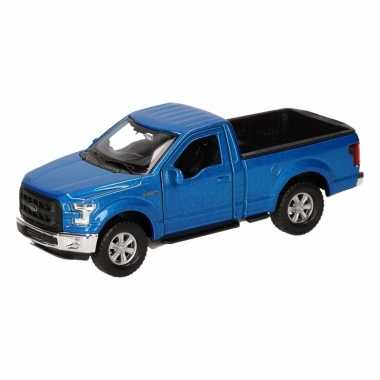 Groothandel speelgoed ford f-150 pick up truck blauw 12 cm kopen