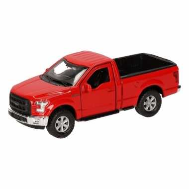 Groothandel speelgoed ford f-150 pick up truck rood 12 cm kopen