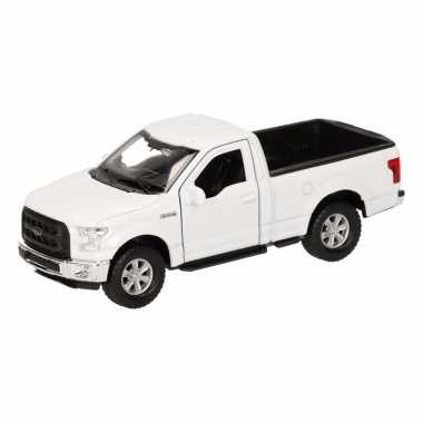 Groothandel speelgoed ford f-150 pick up truck wit 12 cm kopen