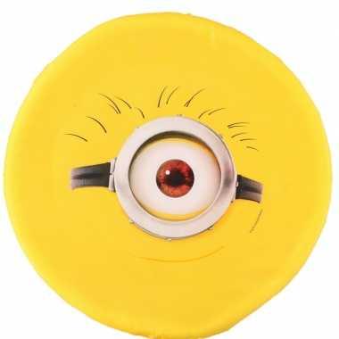 Groothandel speelgoed frisbee/werpschijf minions een oog kopen