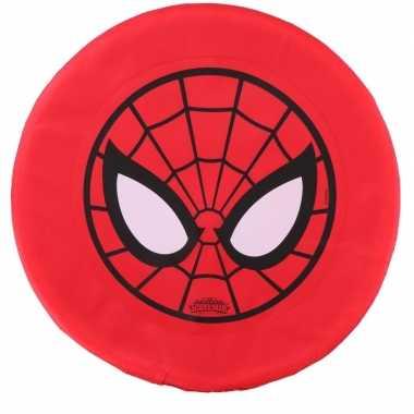 Groothandel speelgoed frisbee/werpschijf spiderman kopen