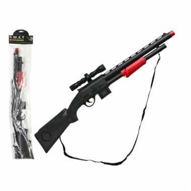Groothandel speelgoed geweren zwart 15 x 77 cm kopen