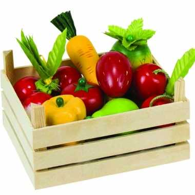 Groothandel speelgoed groente en fruitkist kopen