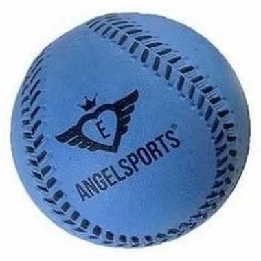 Groothandel speelgoed honkbal blauw 7 cm kopen
