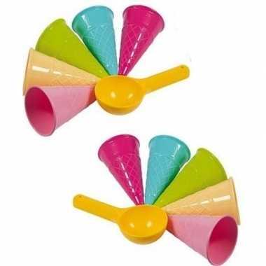 Groothandel speelgoed ijs zandvormen 12 delig kopen