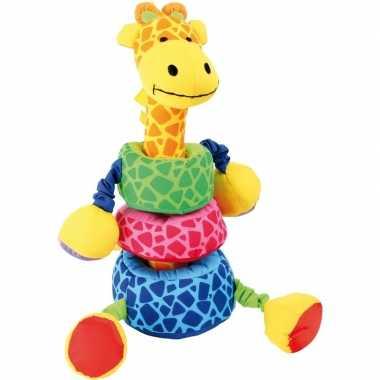 Groothandel speelgoed insteek giraffes 24 cm