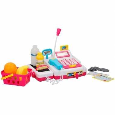 Groothandel speelgoed kassa met licht en geluid voor jongens/meisjes
