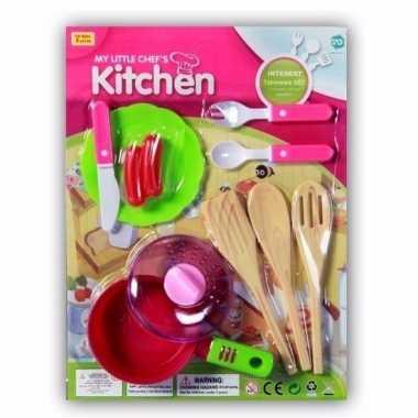 Groothandel speelgoed keuken accessoires 10 delig kopen