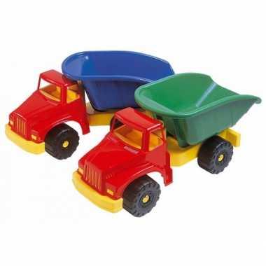 Groothandel speelgoed kiepwagen groen