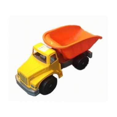 Groothandel speelgoed kiepwagen oranje