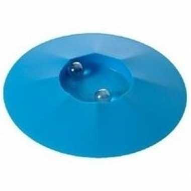 Groothandel speelgoed knikkerpotjes blauw 17 cm kopen