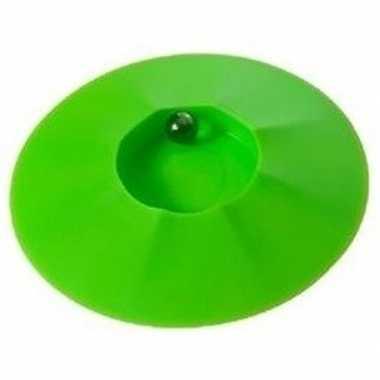 Groothandel speelgoed knikkerpotjes groen 17 cm kopen