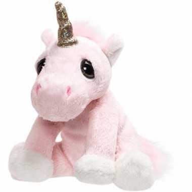 Groothandel speelgoed knuffel pluche eenhoorn met glitter hoorntje 16