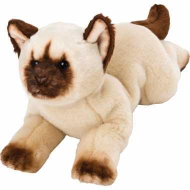 Groothandel speelgoed knuffel pluche himalayan poes/kat 33 cm kopen