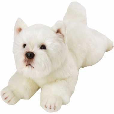 Groothandel speelgoed knuffel pluche west highland terrier 33 cm kope