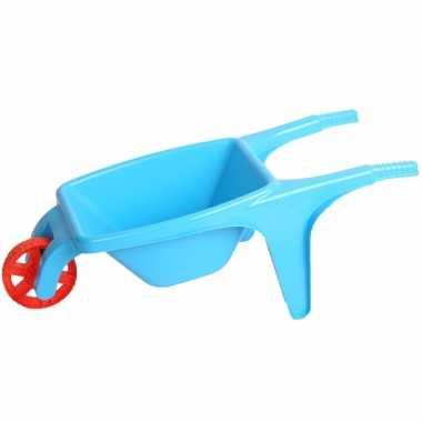 Groothandel speelgoed kruiwagen blauw 70 cm kopen