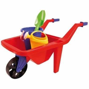Groothandel speelgoed kruiwagen zandbak setje 65 cm kopen