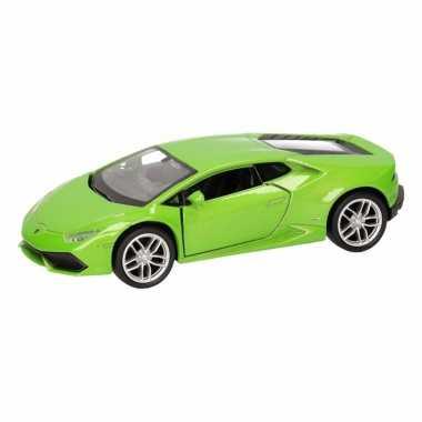 Groothandel speelgoed lamborghini huracan lp610-4 groen welly autootj