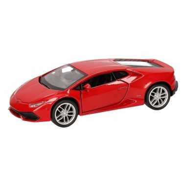 Groothandel speelgoed lamborghini huracan lp610-4 rood welly autootje
