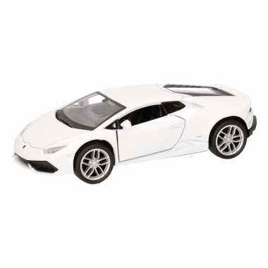 Groothandel speelgoed lamborghini huracan lp610-4 wit welly autootje