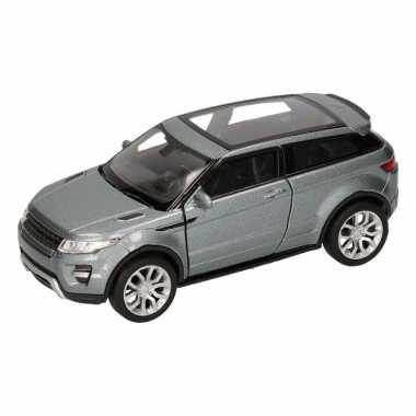 Groothandel speelgoed land/range rover evoque zilver welly autootje 1