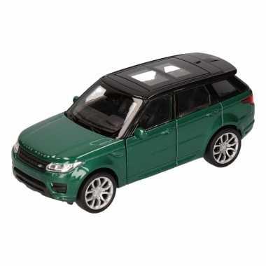 Groothandel speelgoed land rover sport groen welly autootje 1:36 kope
