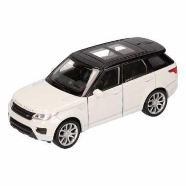Groothandel speelgoed land rover sport wit welly autootje 1:36 kopen