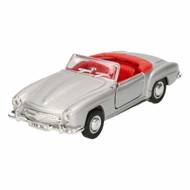 Groothandel speelgoed mercedes-benz 1955 190sl zilver welly autootje