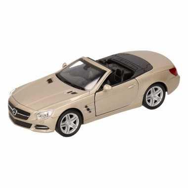 Groothandel speelgoed mercedes-benz 2012 sl500 champagne zilver welly