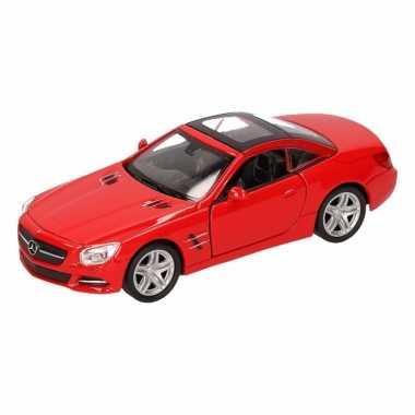 Groothandel speelgoed mercedes-benz 2012 sl500 rood welly autootje 12