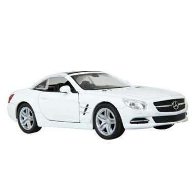 Groothandel speelgoed mercedes-benz 2012 sl500 wit welly autootje 12