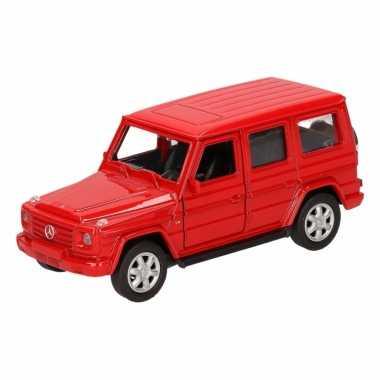 Groothandel speelgoed mercedes-benz g-class rood 12 cm kopen