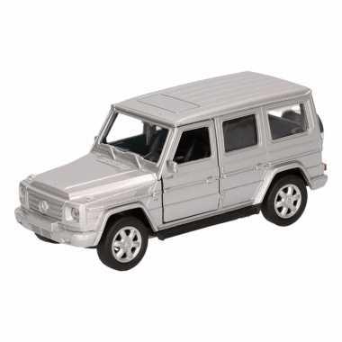 Groothandel speelgoed mercedes-benz g-class zilver 12 cm kopen