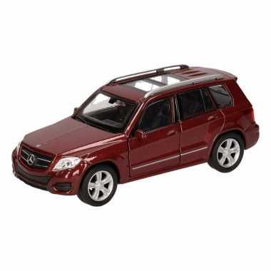 Groothandel speelgoed mercedes-benz glk bruin autotje 12 cm kopen