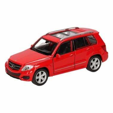 Groothandel speelgoed mercedes-benz glk rood autotje 12 cm kopen