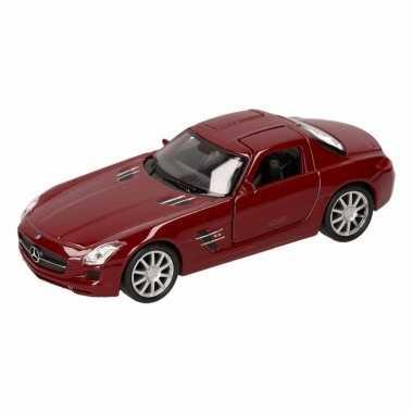 Groothandel speelgoed mercedes sls amg rode welly autootje 11,5 cm ko