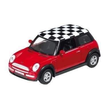 Groothandel speelgoed mini cooper rood 1:34 kopen