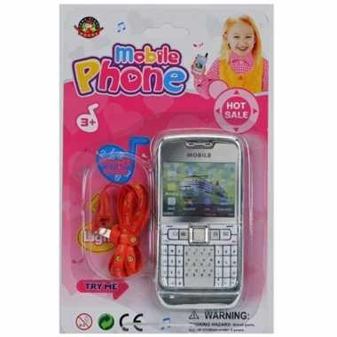 Groothandel speelgoed mobieltje zilver kopen