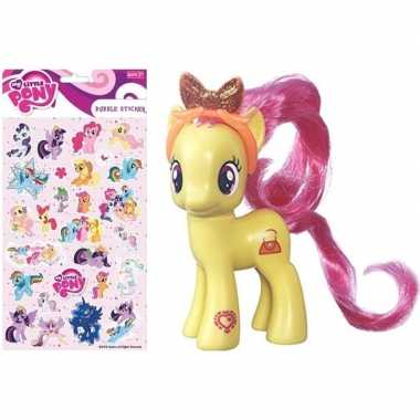 Groothandel speelgoed my little pony plastic figuur pursey pink met s
