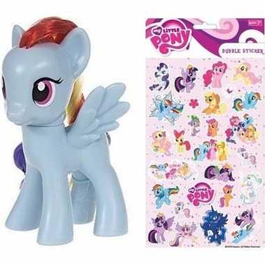 Groothandel speelgoed my little pony plastic figuur rainbow dash met