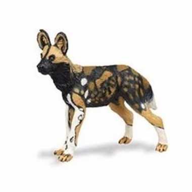 Groothandel speelgoed nep afrikaanse wilde hond 9 cm kopen