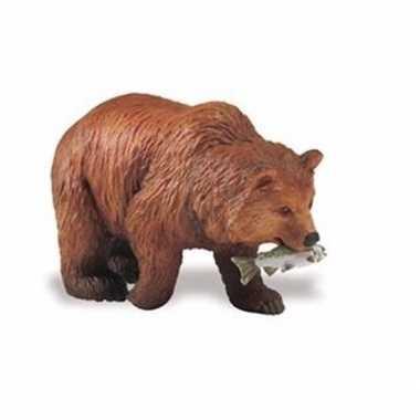 Groothandel speelgoed nep gizzly beer bruin 8 cm kopen